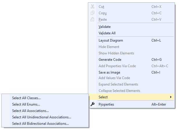 Using the Designer   Entity Framework Visual Designer