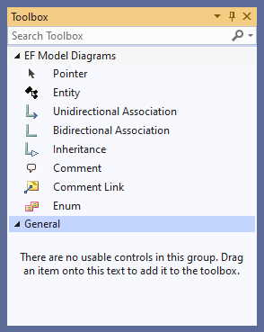 Using the Designer | Entity Framework Visual Designer